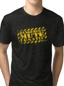 Dangerous Mute Lunatic Tri-blend T-Shirt