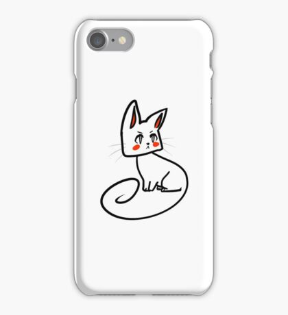 Petulant Cat iPhone Case/Skin