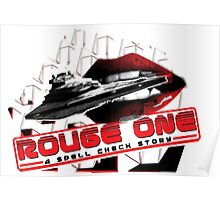 Rouge One, A Spell Check Story Poster