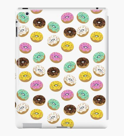 Colory cool donuts icons iPad Case/Skin