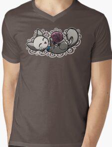 Zodiac Cats - Libra Mens V-Neck T-Shirt