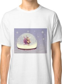 Snow globe with fairy Classic T-Shirt