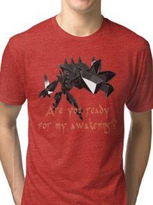 Pokemon /A Necrozma Tri-blend T-Shirt