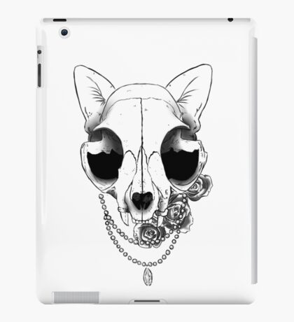cat tattoo iPad Case/Skin