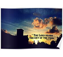The Lord Hears the Cry of the Poor Poster