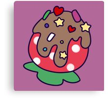 Chocolate Strawberry with Sprinkles Canvas Print