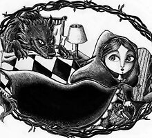 Little Red Riding Hoood by marymermaid