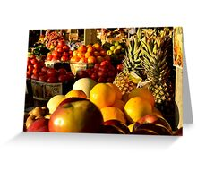 Cana Fruit Greeting Card