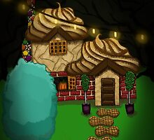 Witch's Candy Cottage by Kaylah Harris