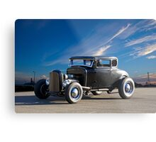 1931 Ford 'Ain't no Chicken' Coupe Metal Print