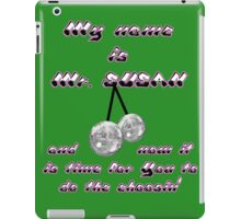 My name is Mr. Susan. iPad Case/Skin