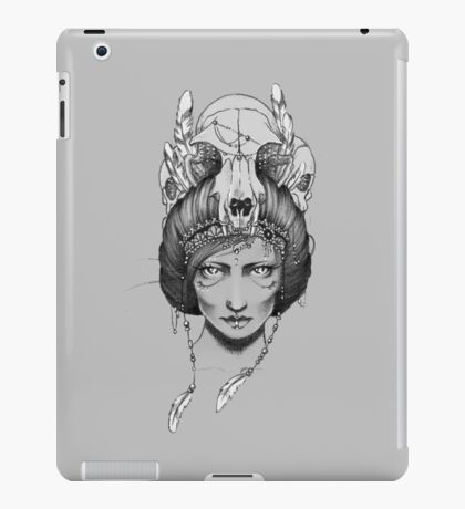 Skull Queen  iPad Case/Skin