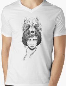 Skull Queen  Mens V-Neck T-Shirt