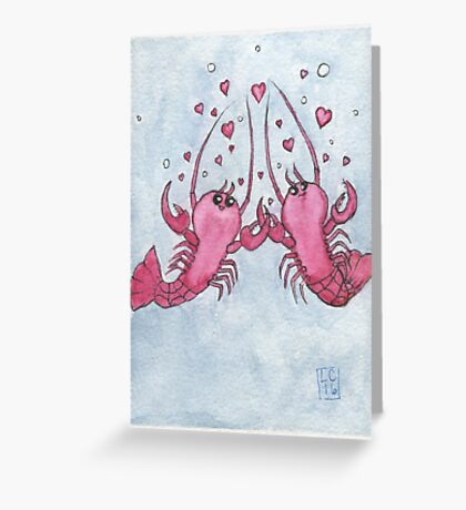 She's Your Lobster Greeting Card