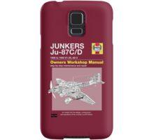 Junkers Ju-87 Owners Workshop Manual Samsung Galaxy Case/Skin