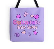 Girlfriends Talk Show Tote Bag