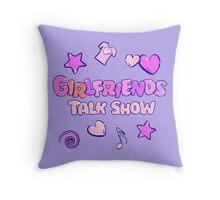 Girlfriends Talk Show Throw Pillow