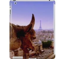 Gargoyle in Paris iPad Case/Skin