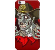 Heeeere's Zombie Rick! iPhone Case/Skin