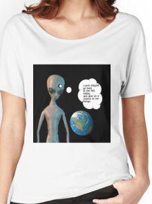 Alien Bigot  Women's Relaxed Fit T-Shirt