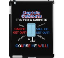 Captain Cabinets iPad Case/Skin