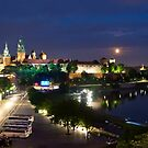 Moonrise Krakow by diggle