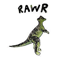 RAWR Photographic Print