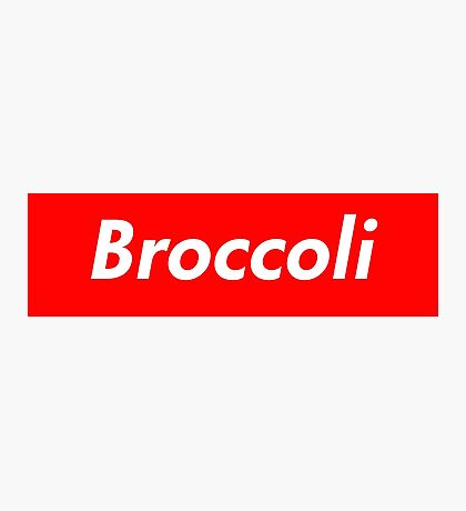 Broccoli Supreme Logo Photographic Print