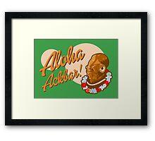 ALOHA ACKBAR! Framed Print