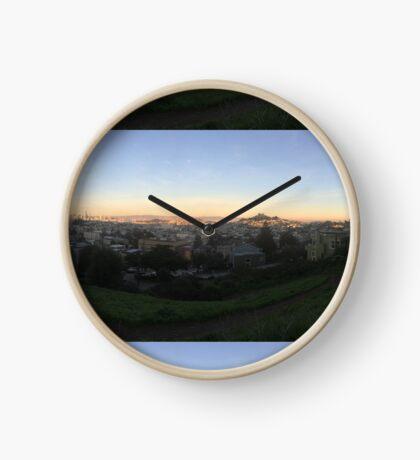 Billygoat Hill Views Clock