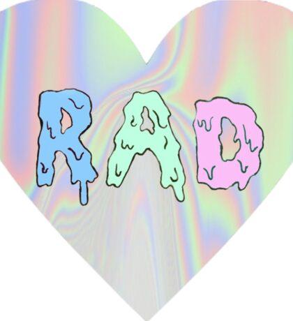 RAD - Heart Sticker