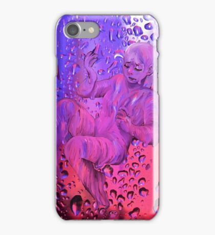 pink and purple rain iPhone Case/Skin