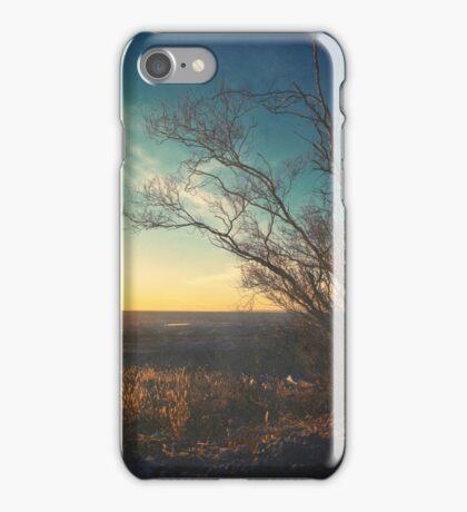 Beautiful Autumn Sunset Color Landscape iPhone Case/Skin