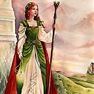 On the wind - medieval fantasy by Nicole Cadet