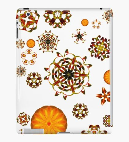 Warm flowers iPad Case/Skin