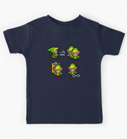 Cut, Copy, Paste, Insert Link Kids Tee