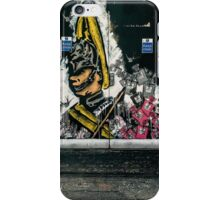 Shoreditch street art iPhone Case/Skin