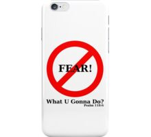 No Fear iPhone Case/Skin