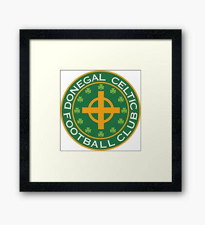 Donegal Celtic Framed Print