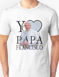 Yo Amo Papa Francisco I Love Pope Francis Unisex T-Shirt