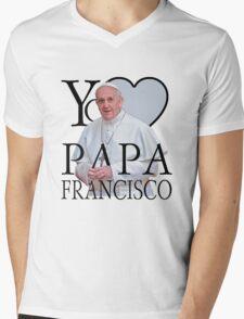 Yo Amo Papa Francisco I Love Pope Francis Mens V-Neck T-Shirt