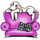Bedlington Terrier Tiko by offleashart
