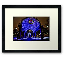 Very Merry Christmas from Boston, MA Framed Print