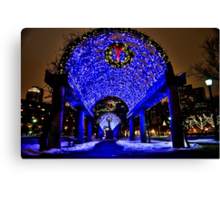Very Merry Christmas from Boston, MA Canvas Print