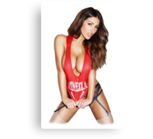 Lucy Pinder Canvas Print