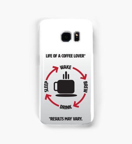Coffee Lover Infographic Samsung Galaxy Case/Skin