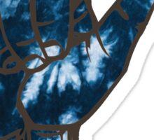 HANG LOOSE BLUE TIE DYE Sticker