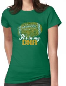Football is in my DNA T-Shirt Womens Fitted T-Shirt