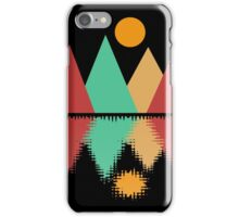 Moon Over Four Peaks iPhone Case/Skin