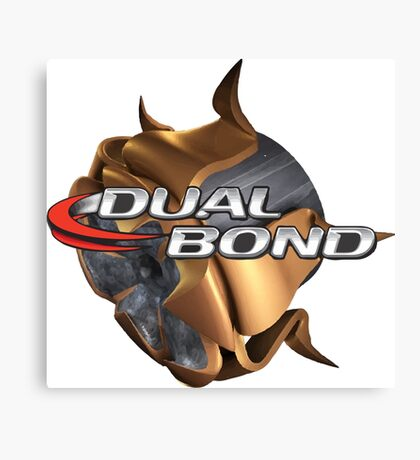 Dual Bond Bullet Canvas Print